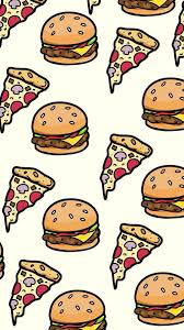 cute food wallpaper backgrounds. Fine Cute Pizza U0026 Burgers Wallpaper Intended Cute Food Wallpaper Backgrounds A