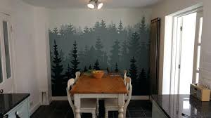 diy wall murals painted wall mural diy paint by number wall murals