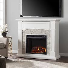 what is an electrical fireplace