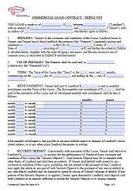kansas commercial lease agreement pdf word doc triple net nnn lease adobe pdf word