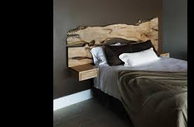 headboard attached to wall and with nightstand one collection images