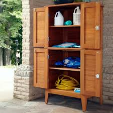 Amazon.com: Home Styles Montego Bay Outdoor Multi-Purpose Storage Cabinet,  Four Door: Garden & Outdoor