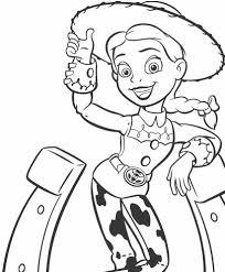 Toy Story Jassie Disegno Da Colorare Disegni Da Colorare E