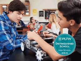 Pltw Mntc Named A Pltw Distinguished School For Its Pre