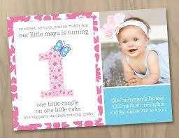 1st birthday invitation card maker