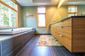 bamboo bathroom vanities. bamboo bathroom vanity caramelized floating double sink vanities i