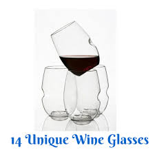 14 unique wine glasses that you should consider getting