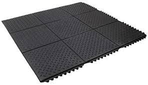 rubber floor mats garage. Envelor Home And Garden Checker Top Ultra Thick Rubber Interlocking Floor  Mat Exercise Gym Rubber Floor Mats Garage E