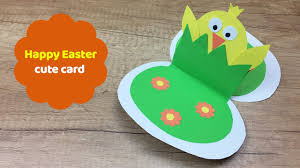 cute and easy to make easter card great easter craft for kids paper magic