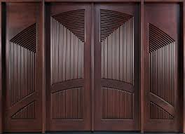 Custom Wood Entry Doors  The Elegant Wood Entry Doors  Design - Custom wood exterior doors