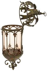 クラウンロイヤル 吊りペンダント ランタン 角灯 彫像 彫刻 design toscano crown royale