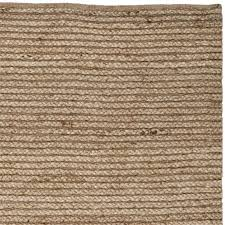safavieh cape cod 11 x 15 handmade jute rug in natural cap355a 1115
