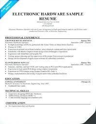 Electronics Technician Resume Samples Electronic Technician Resume Sample Pdf Example Mechanic Field