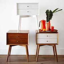 sixties furniture design. beautiful design inspired by midcentury design the midcentury nightstand borrows its slim  legs angled face and understated retro details from iconic furniture  and sixties furniture design