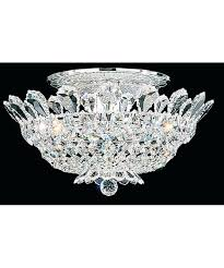 full size of candice chrome and crystal semi flush mount chandelier 240w crystal flush mount with