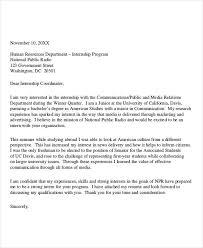 Letter Format For Internship Application Letter Internship Magdalene Project Org