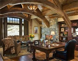 beautiful classic home office. Beautiful Rustic Home Office Desks Introducing Natural Beauty Into The Room Stunning Traditional Design With Classic F