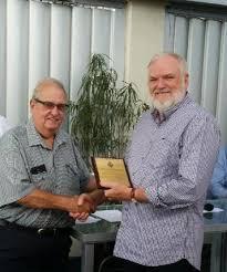 Life Membership Awarded to Bernie Christensen   Queensland Police ...