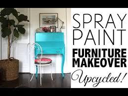 painted furniture makeover gold metallic. DIY Spray Paint Furniture Makeover | Home Decor Painted Gold Metallic