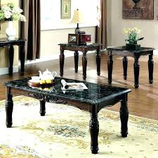 3 piece coffee table sets coffee end table marble table set for living room outstanding furniture