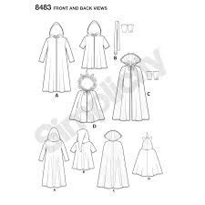 Childs Cape Pattern Stunning Simplicity Pattern 48 Child's Cape Costumes