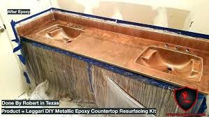 diy countertops resin resurfacing kitchen