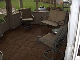 concrete tile exterior patio flooring options with fl padded chairs and white curtain full