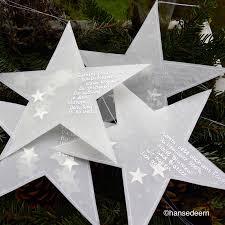 Sterne Aus Transparentpapier Genäht Gefüllt Mit