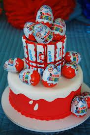 Egg Surprise Cake Design Tort Z Kinder Niespodzianek Marzenie Bo W Każdym Z Nas