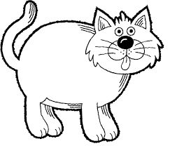 Small Picture Printable Cat Coloring Pages 98 Cat Coloring Free Animal