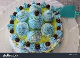 Fun Birthday Cake Children Party Followed Stock Photo Edit Now