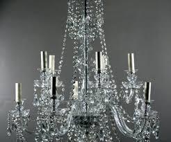 antique crystal chandeliers branch bohemian chandelier fritz fryer
