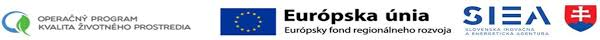 Výsledok vyhľadávania obrázkov pre dopyt OPKZP, SIEA, EU