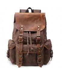 kemys backpack vintage bookbag rucksack