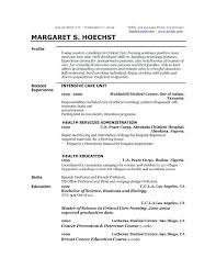 Example Of A Profile For A Resumes Profile Resumes Examp Resume Summary Examples Profile Resume