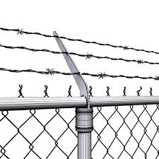 barbed wire fence drawing. Plain Fence Chainlink Fence Barbed Wire High Detail 3d Model Max Obj Fbx Mtl Mat 9  On Barbed Wire Fence Drawing