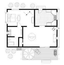 draw floor plans. Floor Plan - Cottage. Draw Plans