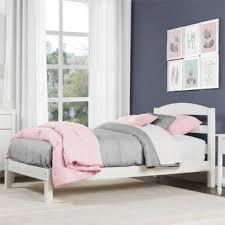 Girls White Twin Platform Bed | Wayfair