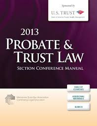 Probate Trust Law Section Conference Manual