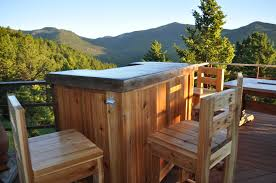 impressive deck with best outdoor bar diy decoration again wooden cabinet and chairs near dark