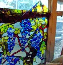 stain glass window stickers colorful g vine window static cling glass non colorful g