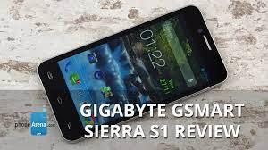 Gigabyte GSmart Sierra S1 Review - YouTube