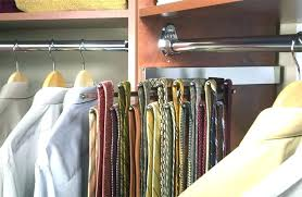 wall mounted tie racks rack organizer for closet closets sliding and belt c