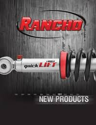 The Complete Guide To Rancho Suspension Brand New 2011