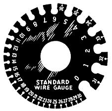 Standard Sheet Metal Gauges Chart Standard Wire Gauge Wikipedia