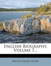 bol.com   English Biography, Volume 7...   9781278250557   Waldo Hilary Dunn    Boeken