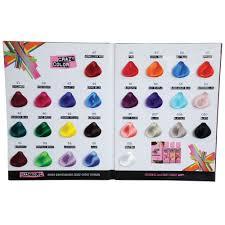 Crazy Color Chart Salon Supplies