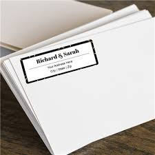 Wedding Address Labels Stickers For Guests Icustomlabel