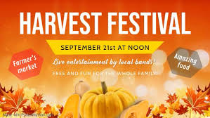 Orange Harvest Festival Event Facebook Cover
