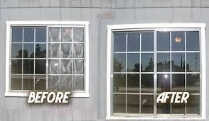 vinyl window glass repair photos